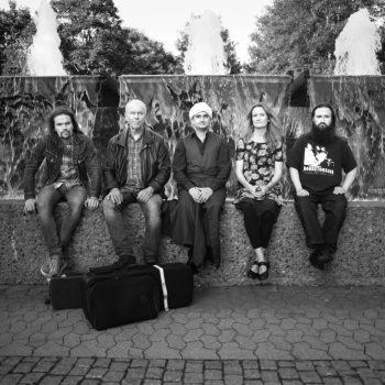 Øyvind Brække, Tellef Kvifte, Safaa Al-Saadi, Mathilde Grooss Viddal, Dag Stiberg, FriEnsemblet, Photo: Andreas Ulvo