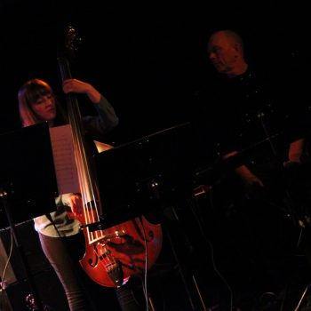 Ellen Andrea Wang,Tellef Kvifte, FriEnsemblet, Tromsø Jazzklubb 2013, Photo: Unknown