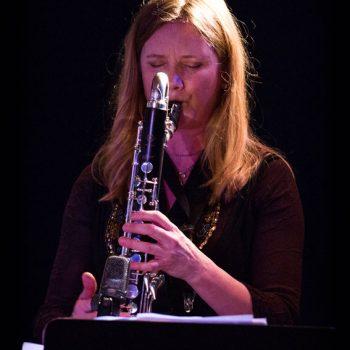 Mathilde Grooss Viddal, FriEnsemblet, Vossajazz 2018. Photo: Runhild Heggem