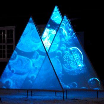 Frozen Landscape, Hamar Sagblad fabrikk 2009. Photo: Christine Istad