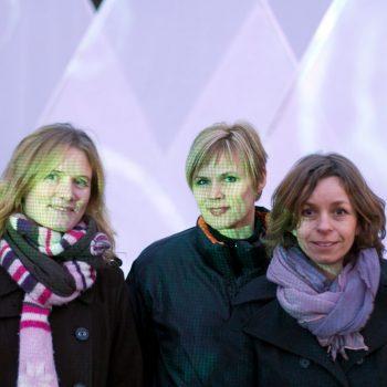 Mathilde Grooss Viddal, Christine Istad, Vigdis Storsveen, Frozen Landscape, HOK 2008, Photo: Aftenposten